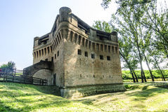 Castle of Stellata. Stellata (Ferrara, Emilia Romagna, Italy) - Ancient castle Stock Images