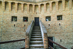 Castle of Stellata. Stellata (Ferrara, Emilia Romagna, Italy) - Ancient castle Royalty Free Stock Photo