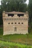 Castle of Stellata (Ferrara). Medieval castle of Stellata (Ferrara, Emilia-Romagna, Italy Royalty Free Stock Images