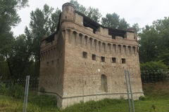 Castle of Stellata (Ferrara) Royalty Free Stock Photos