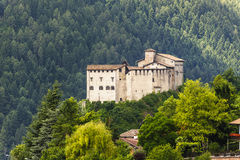 Castle of Stenico (Trento) royalty free stock images
