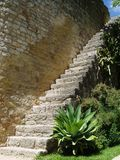 Castle steps. royalty free stock photography