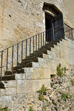 Castle steps Royalty Free Stock Photography