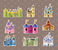 Castle stickers Stock Images