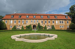 Castle in Stirin Royalty Free Stock Image