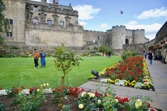 Castle of Stirling Royalty Free Stock Image