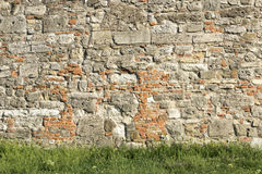 Castle stone wall Royalty Free Stock Photography