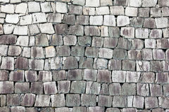 Castle Stone Wall Detail Royalty Free Stock Images