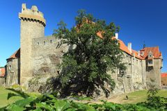 Castle in Strakonice Royalty Free Stock Images