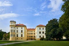 Castle Straznice, νότια Μοραβία, Τσεχία στοκ φωτογραφία με δικαίωμα ελεύθερης χρήσης
