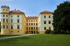 Castle Straznice, νότια Μοραβία, Τσεχία στοκ εικόνες
