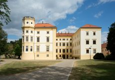 Castle Straznice, Τσεχία στοκ φωτογραφίες