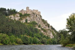 Castle Strecno Royalty Free Stock Photography