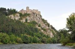 Castle Strecno royalty free stock photography