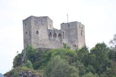 Castle Strecno Royalty Free Stock Image