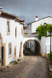 Castle street in Marvao Royalty Free Stock Photo