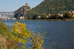 Castle Strekov, Czech republic Royalty Free Stock Image