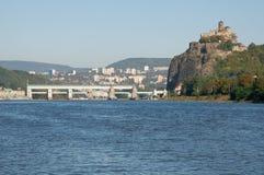 Castle Strekov, Czech republic Stock Image