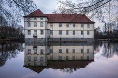 Castle struenkede herne germany. Historic castle struenkede herne germany Royalty Free Stock Photos