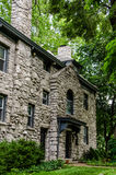 Castle style stone old home / mansion Royalty Free Stock Image