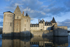 Castle of Sully-Sur-Loire Royalty Free Stock Images