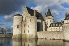 Castle of Sully-Sur-Loire Royalty Free Stock Photography