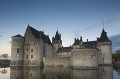 Castle of Sully-Sur-Loire, Loiret. Centre-Val de Loire, France Stock Photos
