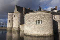 Castle of Sully-Sur-Loire Stock Image