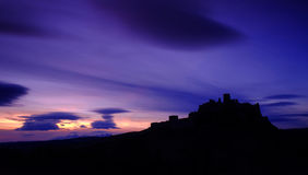 Castle at sunset Royalty Free Stock Images