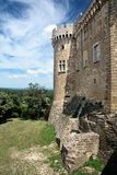 Castle of Suze la Rousse Royalty Free Stock Images