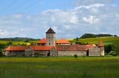 Castle Svihov royalty free stock images