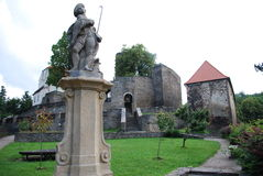 Castle Svojanov, Czech republic Royalty Free Stock Photography