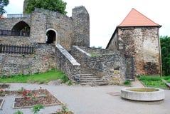 Castle Svojanov, Czech republic stock photos