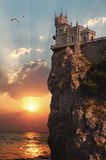 Castle Swallow's Nest Royalty Free Stock Image