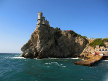Castle Swallow's nest, Crimea, Ukraine Stock Images
