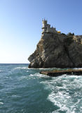 Castle Swallow's nest, Crimea, Ukraine Royalty Free Stock Photography