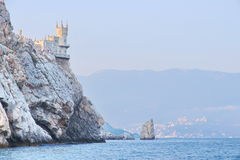 Castle Swallow S Nest Near Yalta In Crimea Royalty Free Stock Photos