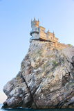 Castle Swallow S Nest Near Yalta In Crimea Royalty Free Stock Images