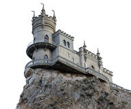 Castle Swallow's Nest near Yalta Stock Photography