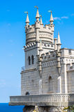 Castle Swallow's Nest. The symbol of Crimea stock image