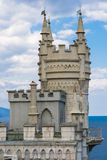 Castle Swallow's Nest. The symbol of Crimea stock images