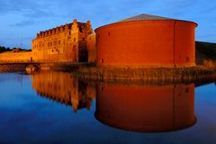 Castle in Sweden. Castle and former prison in southern Sweden Royalty Free Stock Photo