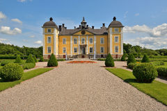 Castle. A Swedish Royal castle in the middle of the country Royalty Free Stock Image