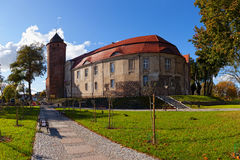 Castle in Swidwin, Poland. Royalty Free Stock Images
