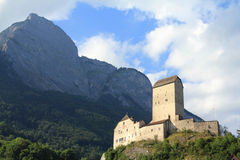 Castle in Switzerland royalty free stock photo