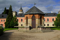 Castle Sychrov. Old castle Sychrov in Czech Republic Royalty Free Stock Images