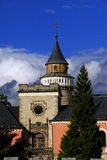 Castle Sychrov. Old castle Sychrov in Czech Republic Stock Image