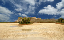 Castle Syracuse. Sicily, Italy Stock Photography