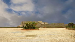 Castle Syracuse. Sicily, Italy. Frederick II Castle (Maniace Castle)- Unesco World Heritage Site stock video