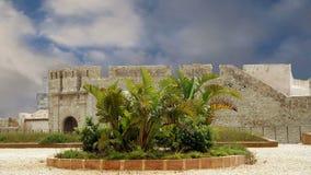 Castle Syracuse. Sicily, Italy. Frederick II Castle (Maniace Castle)- Unesco World Heritage Site stock video footage